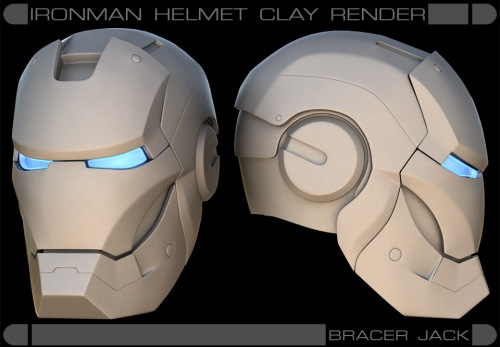 ironman_clay_render